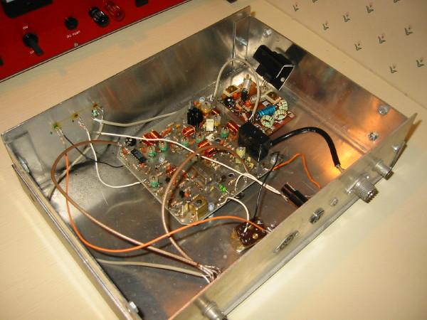 PA3GUO Home-made 50 MHz Transverter